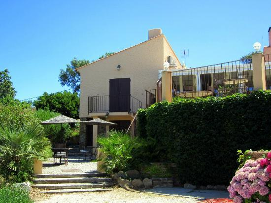Villa Nais: View of where we stayed