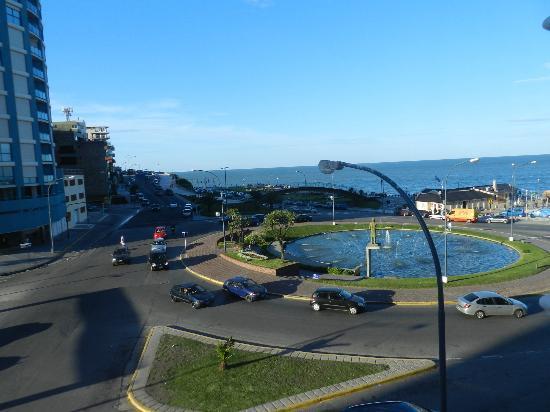 Hotel Guerrero: vista hacia paseo costero