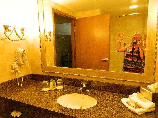 DoubleTree by Hilton Hotel Bay City - Riverfront: bathroom