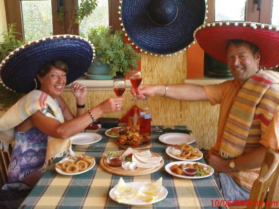 Pancho's Mexican : table for two