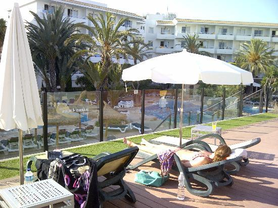 Marins Playa Suites: Sun Terrace