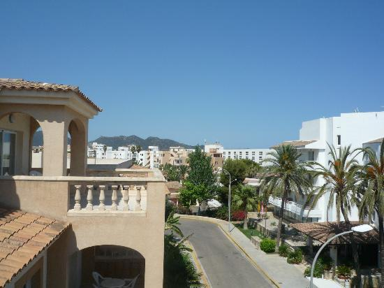 Marins Playa Suites: View from Balcony