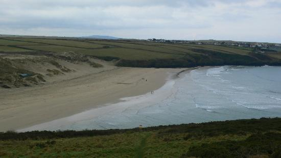 Surfside Stop: Crantock beach
