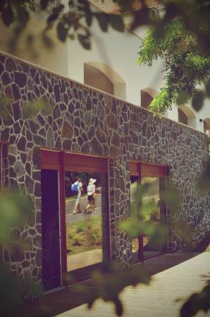 Hotel Bonvino Wine and Spa Badacsony: Spa terasse