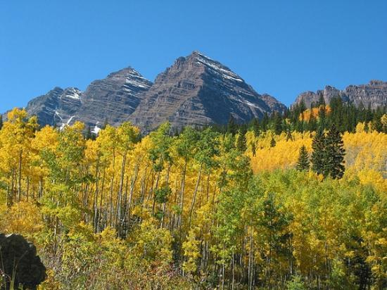 Aspen, Kolorado: Maroon Bells in September