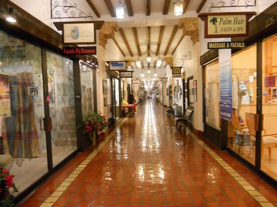Rodeway Inn: Portal en la ciudad de Venecia (Venice) con locales comerciales en la Tampa Ave.