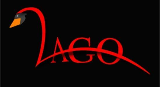 lago ristorante: the logo