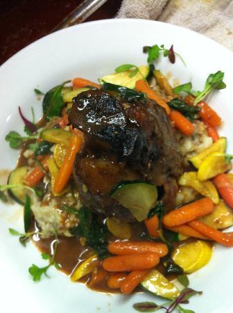 lago ristorante: Pork Osso Bucco dinner special