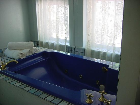 Palace Hotel & Bath House Spa: Jacuzzi Tub x Two