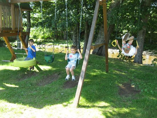 Lodge at Jackson Village: The Swingset