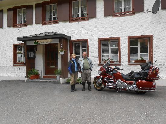 Gastehaus Grunenberg: 2 Bikers at The Grunenberg