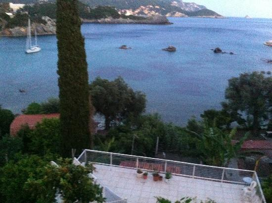 Akis Apartments : view from one of the restaurants