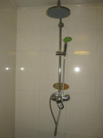 Elan Inn Beijing Xinguozhan: Dusche