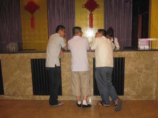Elan Inn Beijing Xinguozhan: Empfang