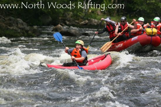 North Woods Rafting - Day Tours: North Woods Rafting & Inflatable kayak tours
