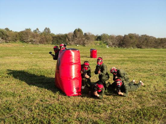 Zizou Paintball Club Hammamet: red powa