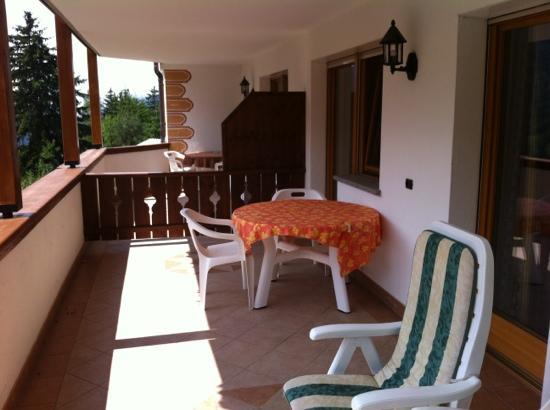 Residence Sovara: splendido terrazzo...