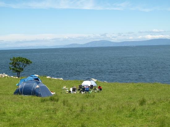 Murlough Bay and Fair Head: Camping (permission probably required from land owner)