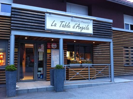 La Bresse, Francia: La Table d'Angèle