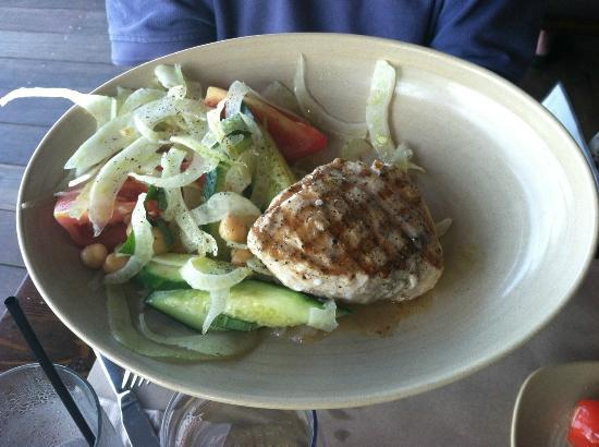 Swordfish Salad Picture Of Legal Harborside Boston