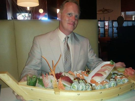 Wasabi Sushi Lounge: The Love Boat - for two?????