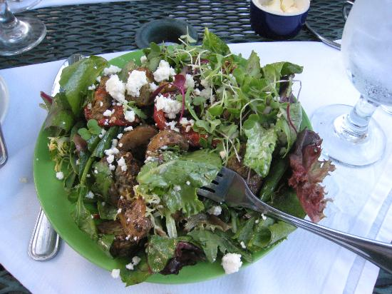 Blue Moose Restaurant & Cafe : Eggplant, Potabella Salad