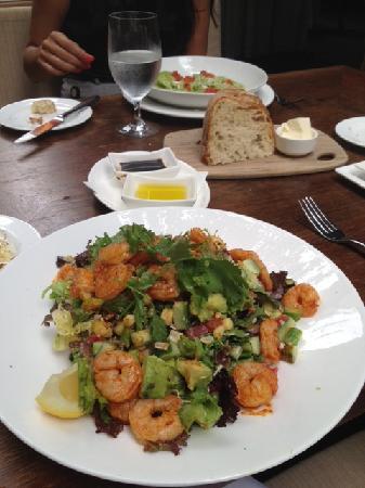 Chaya Brasserie: Cajun Shrimp Salad