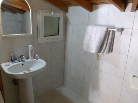 Castle Apartments: Part of the Bathroom