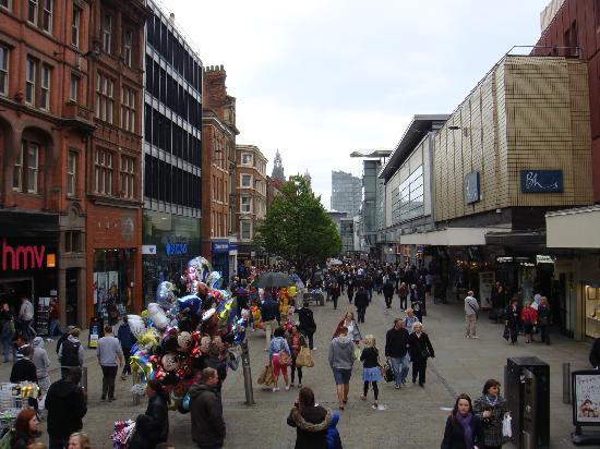 Manchester Sightseeing Bus Tours: Market Street