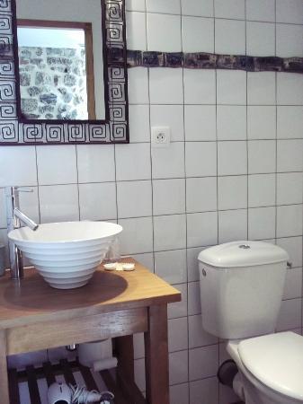 L'Auberge de Thorrenc : Salle de bains
