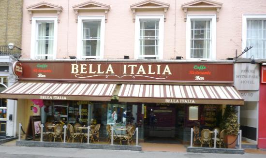 Italian Restaurants Queensway London