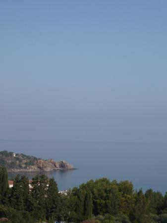 Hotel Villa Belvedere : uitzicht vanuit kamer