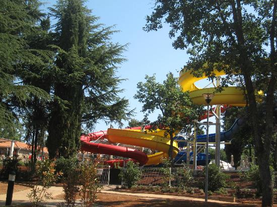 Sol Garden Istra: water slides