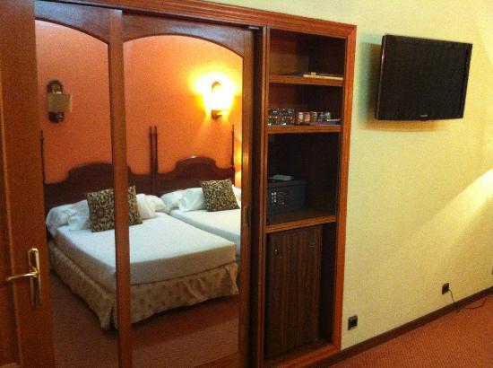 Ciudad de Vigo Hotel: habitación doble