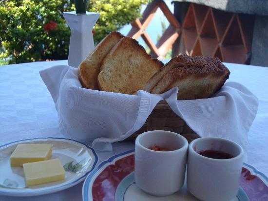 Casa Palopo: amazing toast!