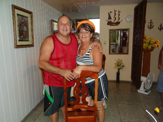 Casa Particular Roberto & Martha: Los conoci personalmente dos grandes personas,les recomiendo su casa a todo el que quiera visita