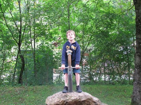 Märchenpark Marquarstein: Test your strength!