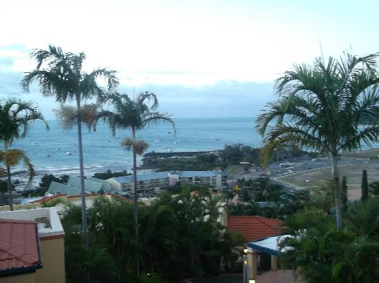 Mediterranean Resorts: View from apartment upstairs