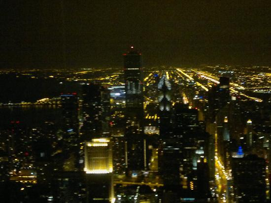 evening view from the 95th floor