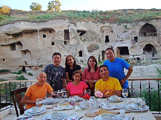 Gamirasu Cave Hotel: A wonderful dinner at the hotel