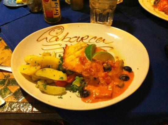 La Barca: Wahoo in tomato sauce!