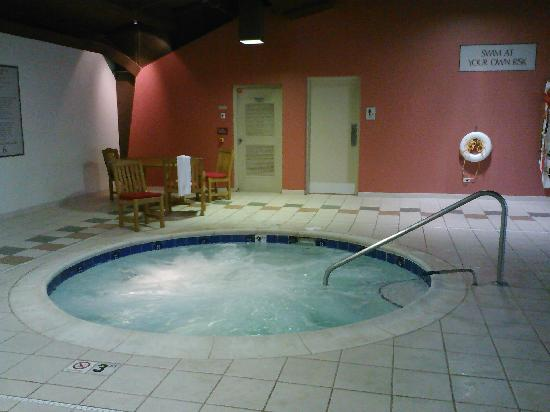 Cleveland Airport Marriott : Separate jacuzzi