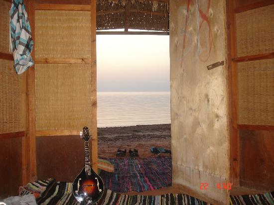 Jazzy Camp: Sunrise from my hut