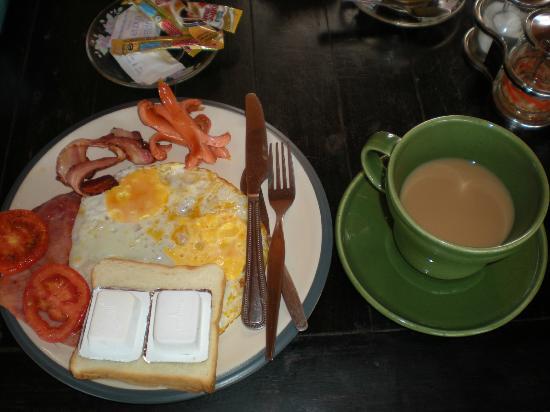 Darin Bungalow: La colazione!
