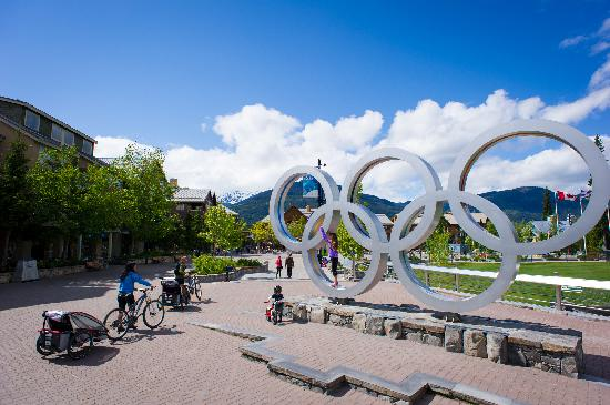 Olympic Rings at Whistler Olympic