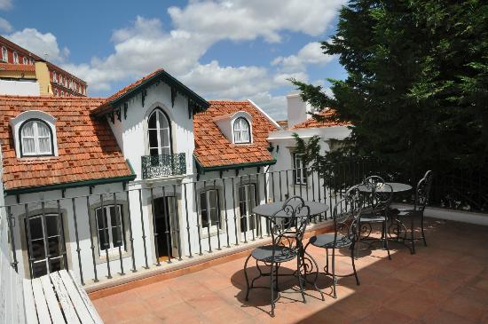 Casa Balthazar: terrasse