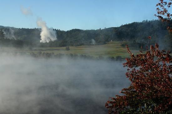Rotorua Golf Club - Arikikapakapa Course: Thermal Activity on course