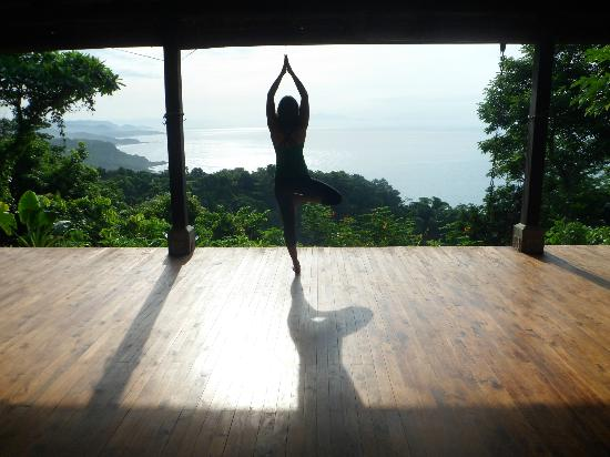 ‪‪Anamaya Resort & Retreat Center‬: Yoga with a view to die for!
