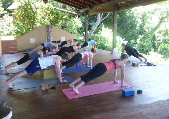 Anamaya Resort & Retreat Center: Yoga