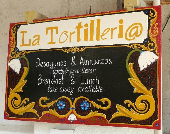 La Tortilleria de Holbox: The Spanish Tortilla is a must try!
